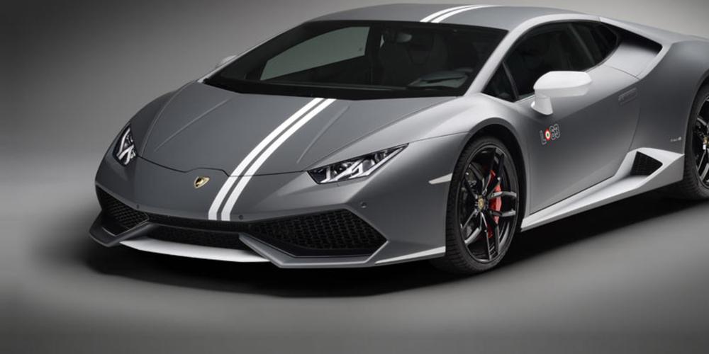 Ein Lamborghini Huracan mit Streifen, wie ihn der Raser in Albanien fuhr, kostet neu um die 300'000 Franken.