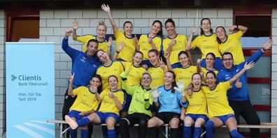 Herzliche Gratulation zum OFV-Cupsieg 2021!