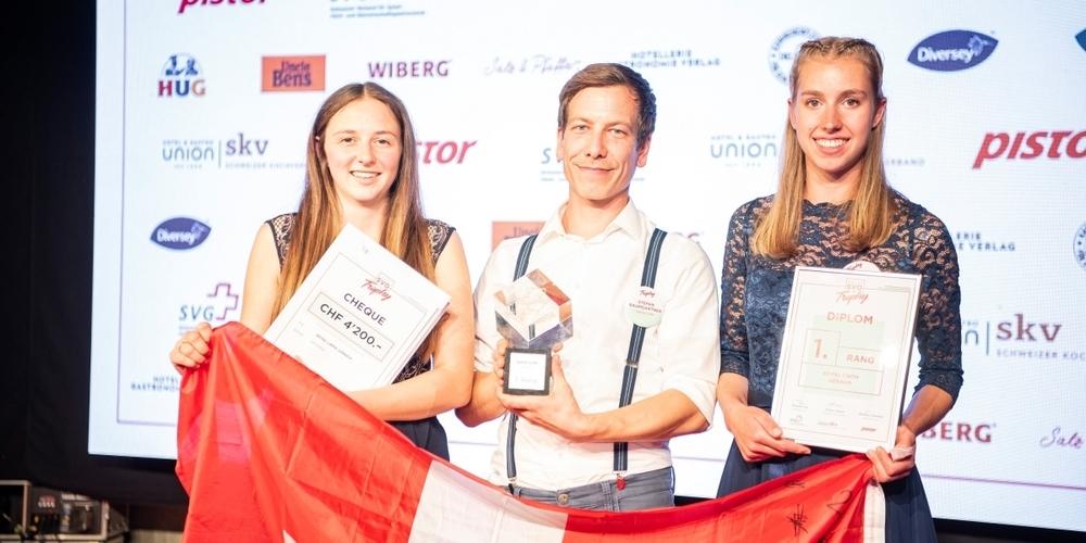 Die Gewinner: Corina Steinmann, Stefan Baumgartner  und Katja Bachofen (v.l.n.r.).