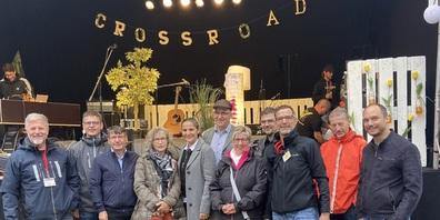 Die Vertreter der Kirchen und der Gemeinden aus Uzwil und Oberuzwil machten das erste CrossRoad Musik Festival möglich.