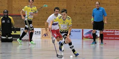 Ein weiterer Sieg für die Unihockey-Spieler der Rheintal Gators