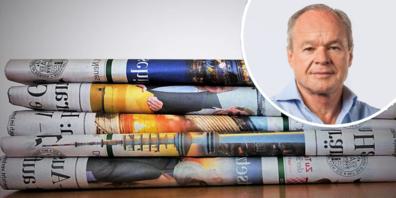Verleger Bruno Hug kommentiert, wie die Schweizer Verlagshäuser wegen der Staats-Subventionen ihren Redaktionen in den Rücken fallen – und umgekehrt, während sie zugleich Informationen unterdrücken und Milliarden-Geschäfte abschliessen.