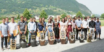 Erstausbildung Landwirt EFZ (Klasse A und B zusammen).
