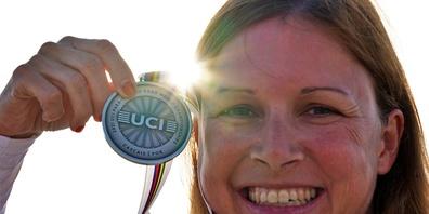 Sandra Stöckli kann ihren Erfolg noch kaum fassen.
