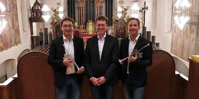 Das Trio Toccata in der Pfarrkirche zu Berneck