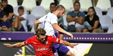 Joël Schmied will mit Vaduz nach dem Abstieg in der Challenge League sofort wieder auf die Füsse kommen und zurück in die höchste Spielklasse