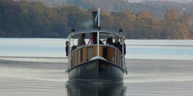 Das DS Greif ist das älteste Dampfschiff der Schweiz im öffentlichen Verkehr