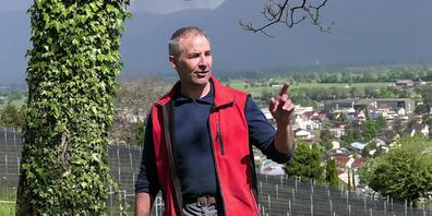 Lukas Fürst: «Die Weinproduktion kann nicht innerhalb von acht Jahren ohne Pestizide und Fungizide auskommen»