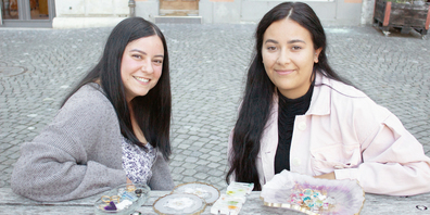 Seit Anfang diesen Jahres führen Fabiana Mazzeo (l.) und Jeanette Mtiri ihr eigenes kleines Projekt namens elua.more.