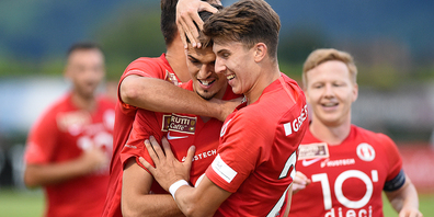 Die Rosenstädter gewannen dank Toren von Ciarrocchi, Beka und Rohrbach mit 3:1 gegen den SC Brühl.