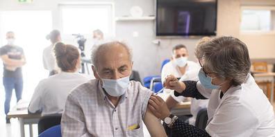 Covid-19-Impfung in der Schaffhauser Mekka Moschee: Rund ein Viertel der Anwesenden haben sich piksen lassen.