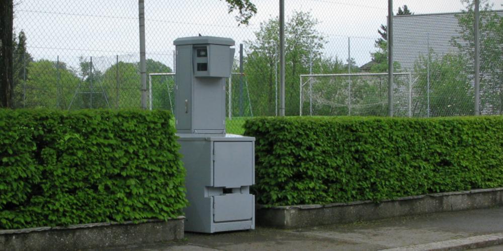 Symbolbild: Semistationäre Radaranlage