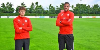 Bleiben beide beim FCRJ: Dario Marcon (l.) und Diego Yanz.