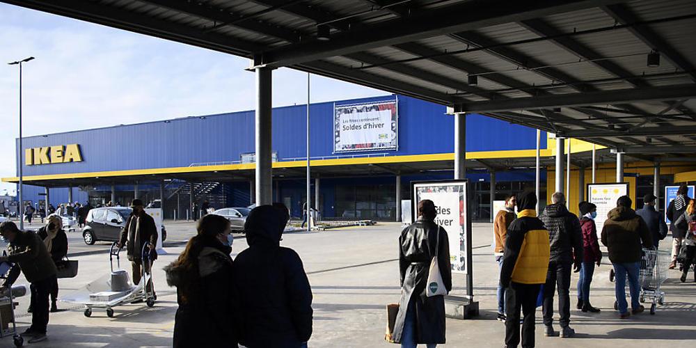 Ikea verdient über einen Viertel des Gesamtumsatzes im Online-Handel. (Archivbild)