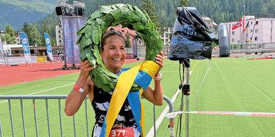 Der K68 der Frauen wurde von der bekannten Davoser Läuferin  Jasmin Nunige gewonnen.