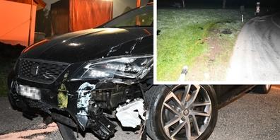 Durch den Unfall entstand ein Sachschaden von mehreren tausend Franken.