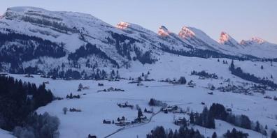 Das Toggenburg im Winter