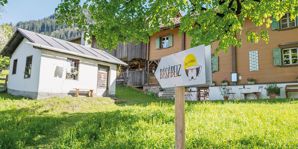 Bäsmäbeiz zum Wäschhuus uf em Schärräbüel in Strahlegg.