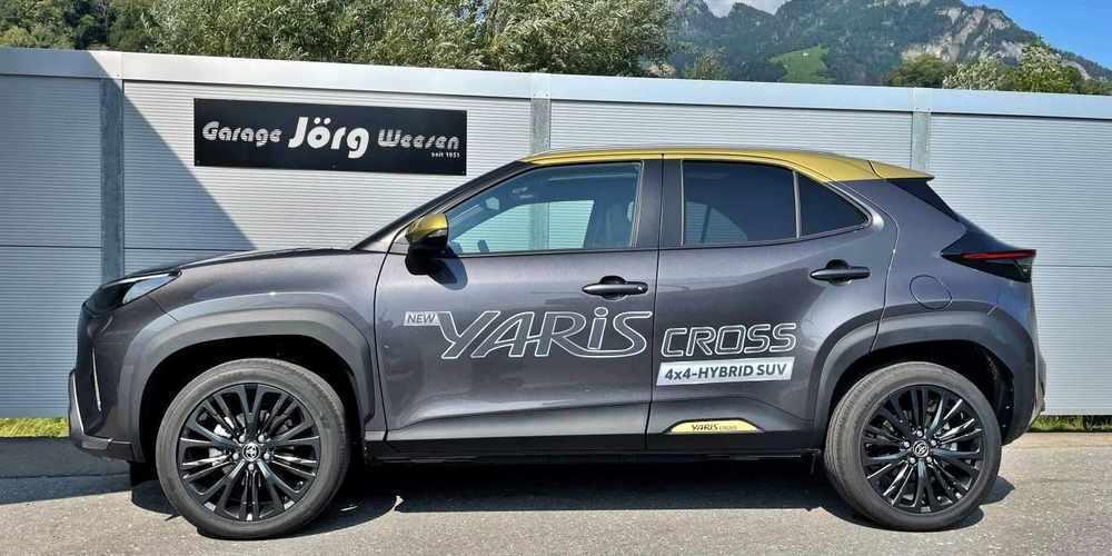 An der Jubiläumsaustellung der Garage Jörg feiert der neue Yaris Cross ab CHF 23'900 seine Premiere.