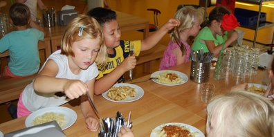 Mittagstisch für Kinder