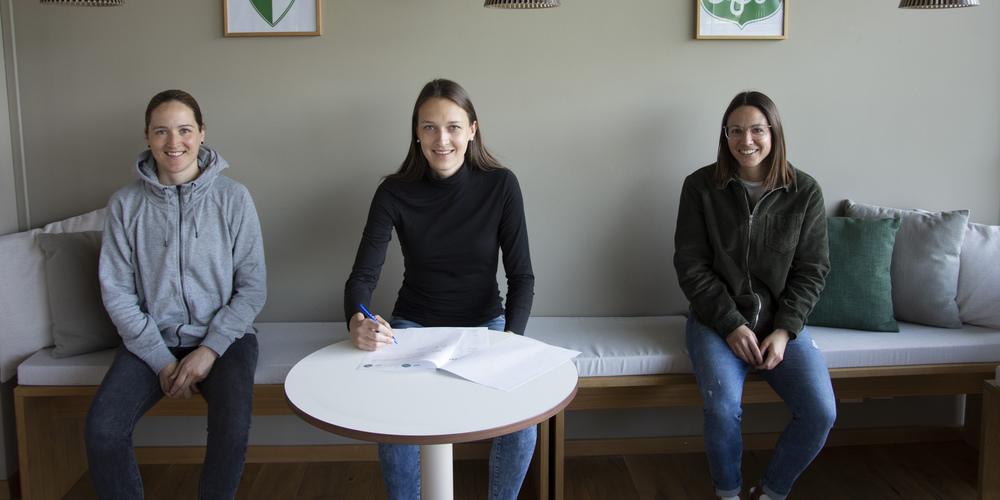 von links: Sandra Egger, Jana Brunner, Patrizia Willi