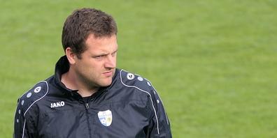 Widnaus Co-Trainer Daniel Lüchinger: «Wir sind sehr gut drauf und erwarten in diesem Heimspiel einen Sieg»