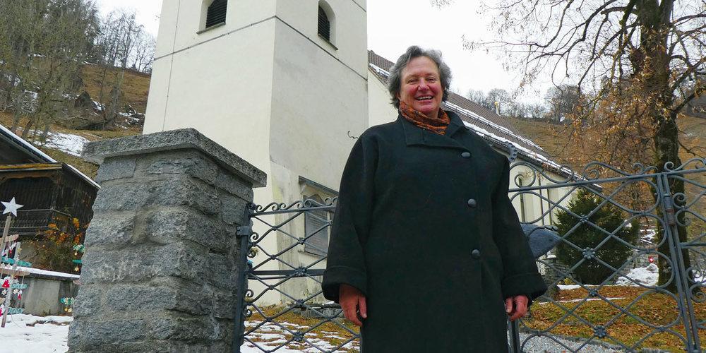 Marianna Iberg, Pfarrerin in Grüsch, blickt auf ein aussergewöhnliches Jahr zurück und auf ebenso aussergewöhnliche Festtage voraus.