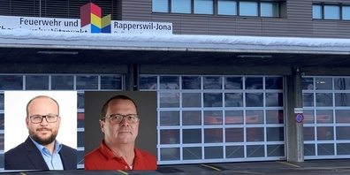 Irrationale Eskalation um Erste-Hilfe-Kurse: Stadtpräsident Stöckling (l.) und Feuerwehr-Kommandant Roland Meier (r.).