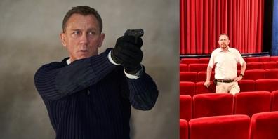 Hansjörg Beck von Leuzinger Kinobar in Rapperswil freut sich auf den neuen James-Bond-Film.