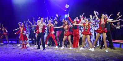 Gestern Abend lieferten die Artisten vom Circus Knie eine Premiere voller Action, Emotionen und wahrer Zirkus-Schönheit.