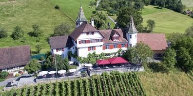 Schloss Weinstein ob Marbach: Auch dort bleibt die Terrasse geschlossen