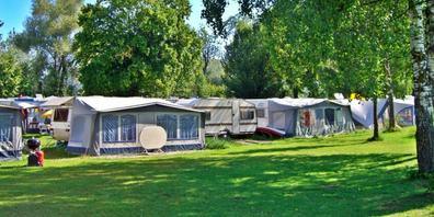 Während der Pandemie merken regionale Campingplätze rasante Anstiege der Reservationszahlen.