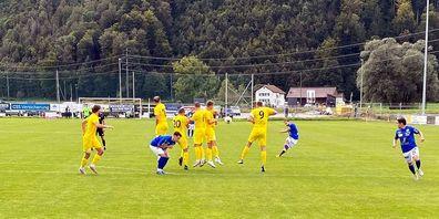 Beim FC Linth 04 musste der FC Gossau das Feld als Verlierer verlassen.