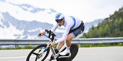 Der Europameister Stefan Küng gehört zu den Kandidaten für eine Olympia-Medaille im Zeitfahren