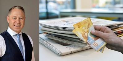 Dr. Gut: «Ohne Medienvielfalt funktioniert unsere direkte Demokratie nicht – sie darf nicht verkauft werden.»