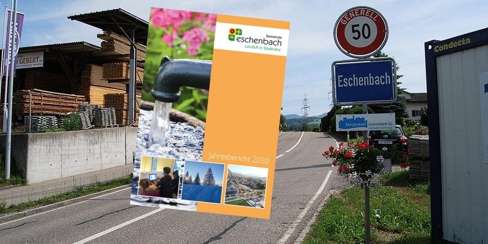 Der Bericht enthält aktuelle Zahlen und Fakten zur Gemeinde Eschenbach.