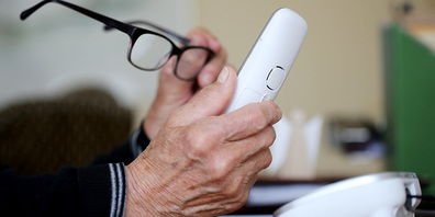 Abnehmen oder nicht? Mit den vielen Callcenter-Anrufen steigt die Angst davor, das Telefon abzunehmen.