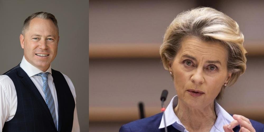 «EU-Kommissionspräsidentin Ursula von der Leyen drückte es mit der ganzen autoritären Arroganz aus, die sie auszeichnet.»