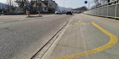 Am 9. März beginnt das Tiefbauamt mit dem Bau einer neuen Velo-Auffahrtsrampe zur Fürstenlandbrücke