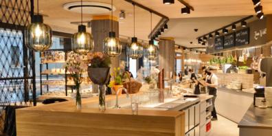 Neu gibt es beispielsweise auch in der Stadt St.Gallen eine Bäckerei Füger.