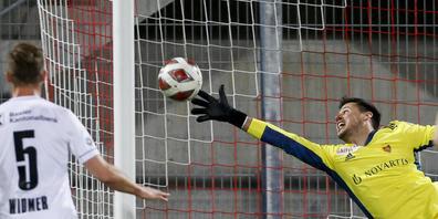 Werden Heinz Lindners Paraden im Match gegen Omonia gefragt sein?