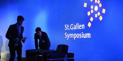 """Das St. Gallen Symposium findet vom 5. bis 7. Mai zum 50. Mal statt. Kernthema ist """"True Matters"""". (Archvbild)"""
