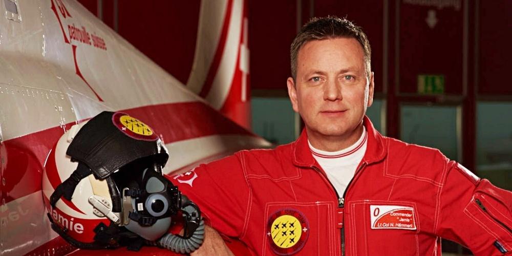 Nils «Jamie»Hämmerli kennt die fliegerischen Anforderungen an einen Piloten bestens.