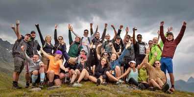 Stets für neue Mitglieder offen: Die Uzner Wanderhuren, welche jeden Berg besteigen.