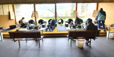 Jungschützenkurs im Schützenhaus Tobelacker