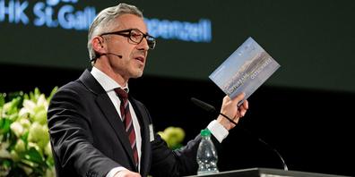 Markus Bänziger, Präsident der IHK St.Gallen-Appenzell
