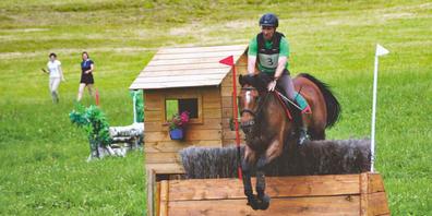Die Vielseitigkeitsreiterei stellt hohe Anforderungen an Reitende und Pferd.