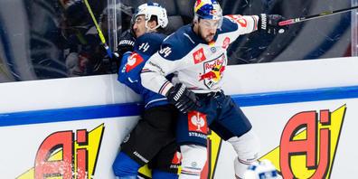 Harter Fight mit Folgen: Nach dem Champions-League-Spiel zwischen Red Bull München und dem EV Zug werden bei beiden Teams zahlreiche Corona-Fälle verzeichnet