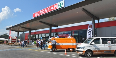 Der kürzlich eröffnete Schänner Eurospar ist der erste seiner Kategorie in der Schweiz.