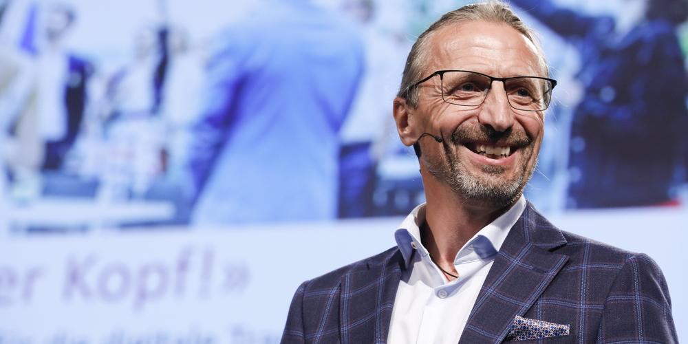 Sigmar Willi spricht am Zyklusanlass von Gewerbe Stadt St. Gallen und OST am 14. September.